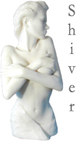 Shiver Figurative Nude Sculpture